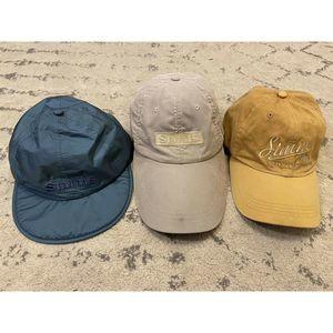 Lot Of Three Simms Hats Bozeman Montana
